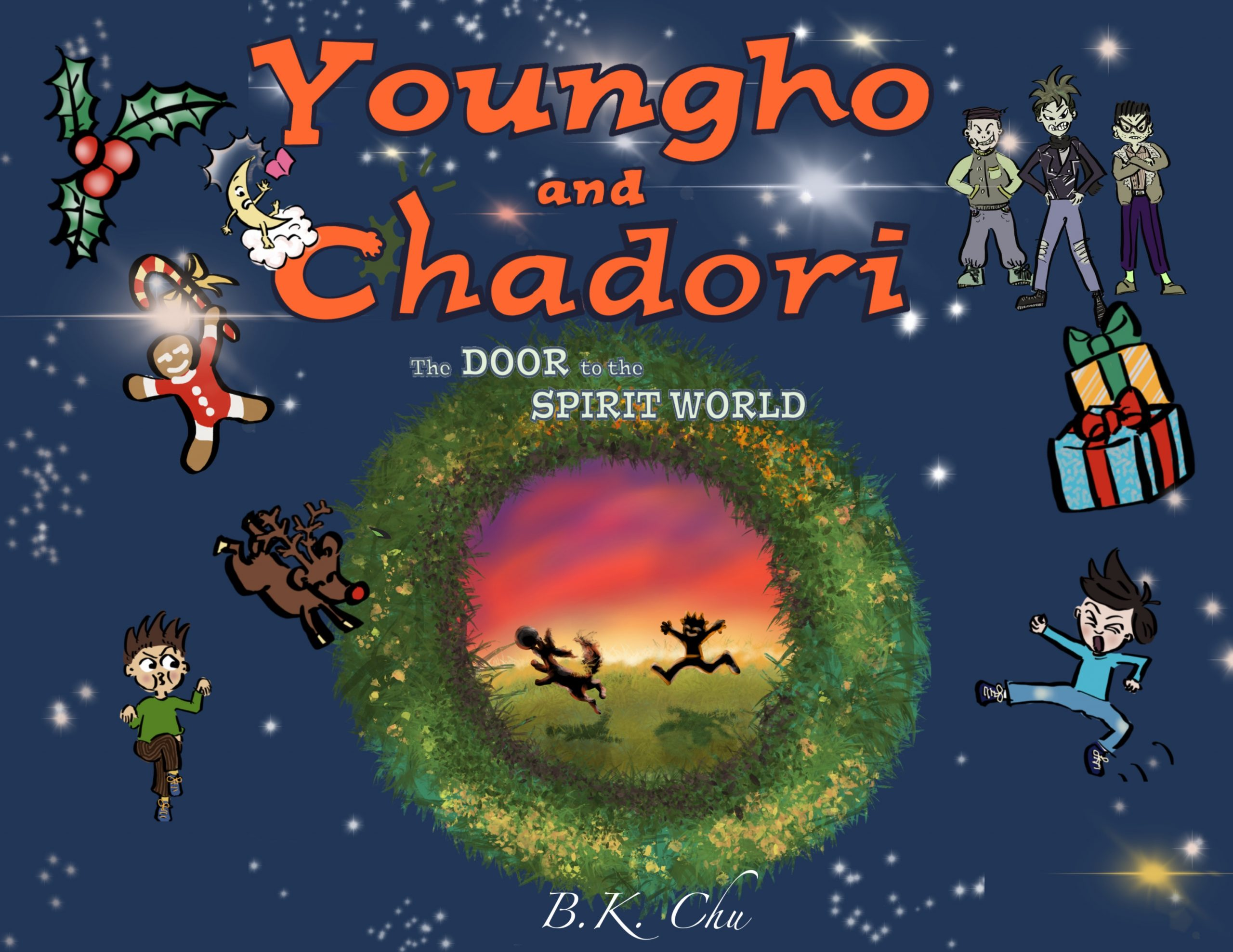 Youngho and Chadori by B.K. Chu